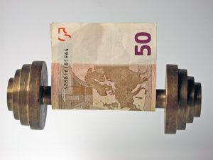 Mehr Geld bedeutet mehr Kraftsport